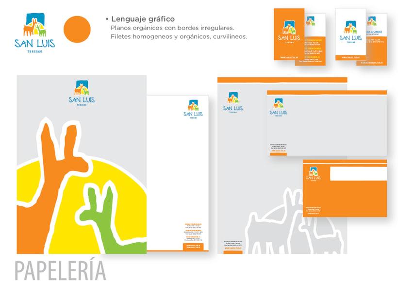 San Luis Papelería /diseño de identidad 1