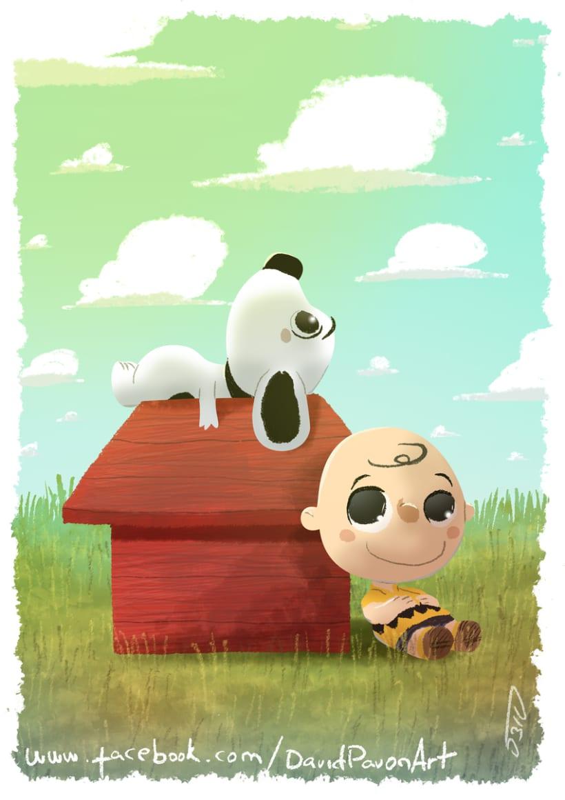 El show de Snoopy y Charlie Brown -1