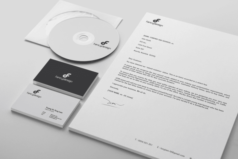 Fancy Design | Brand Identity 13