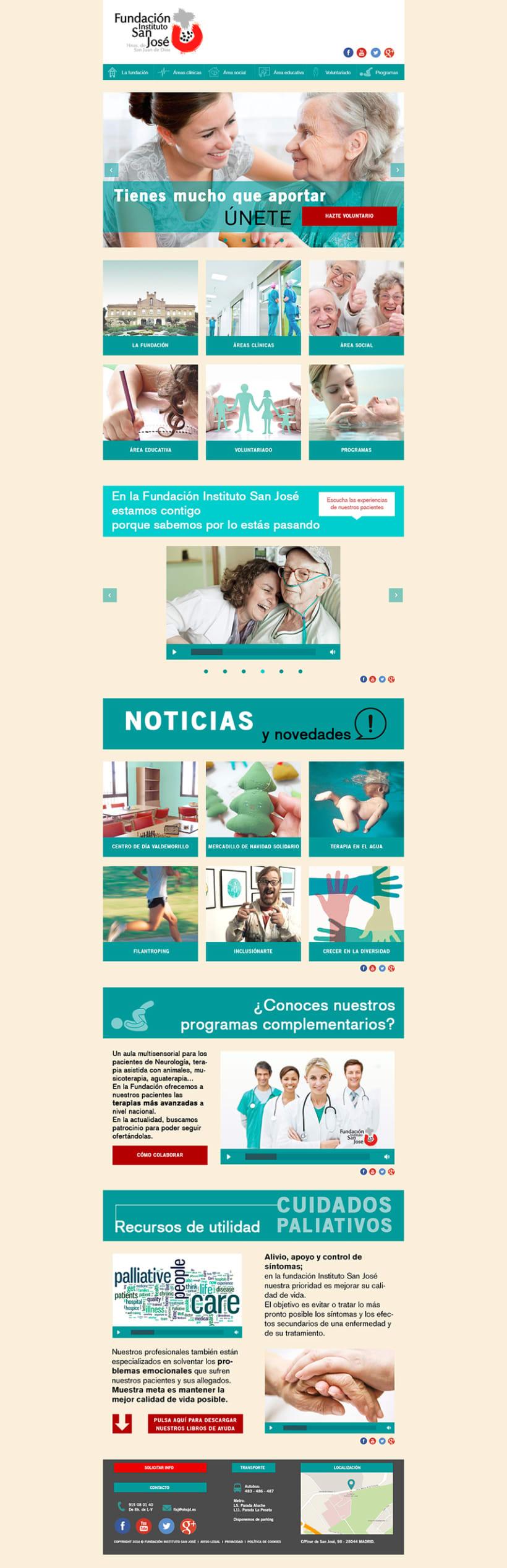 Web Fundación Instituto San José 3