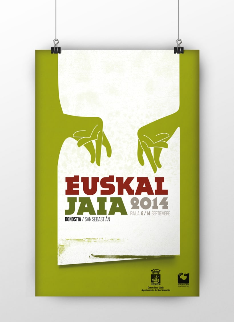 Propuesta cartel Euskaljaiak 2014 (Donostia - San Sebastian) -1