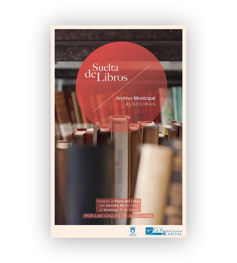 Poster 'Suelta de libros' 0