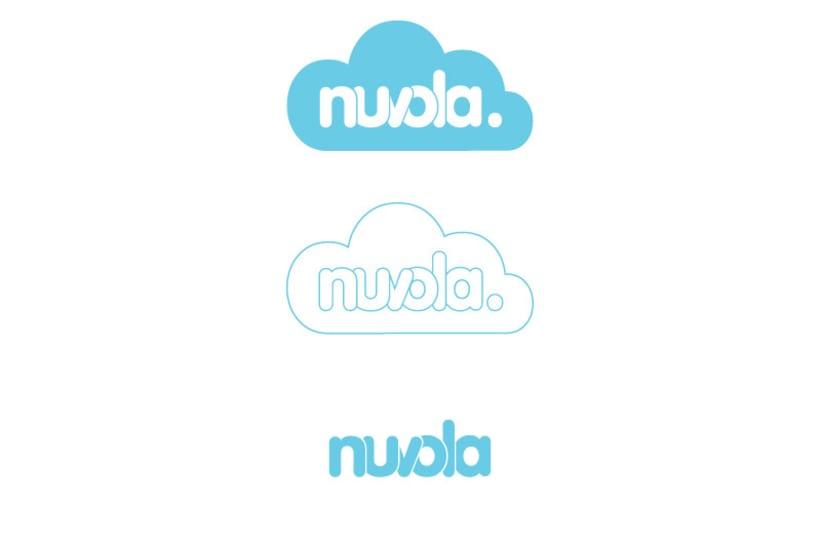 Naming, imagen corporativa y desarrollo de producto Nuvola 0