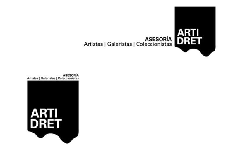 Naming y diseño de logotipo ARTIDRET -1