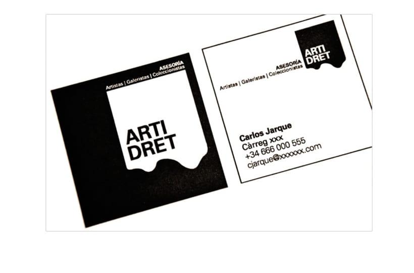 Naming y diseño de logotipo ARTIDRET 1