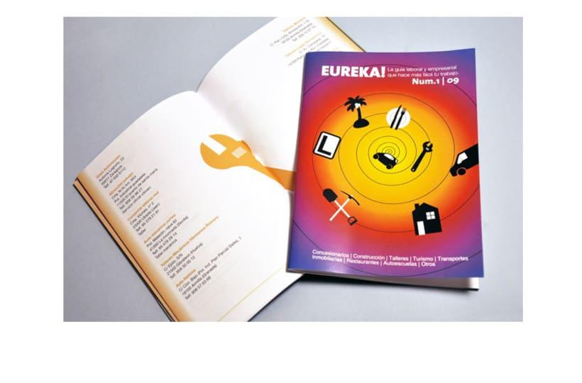 Diseño y maquetación de Eureka! -1