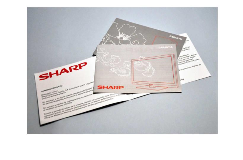 Diseño garantías Sharp -1