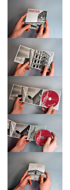 Diseño logotipo, packaging y fotografías cds SAMITIER 1