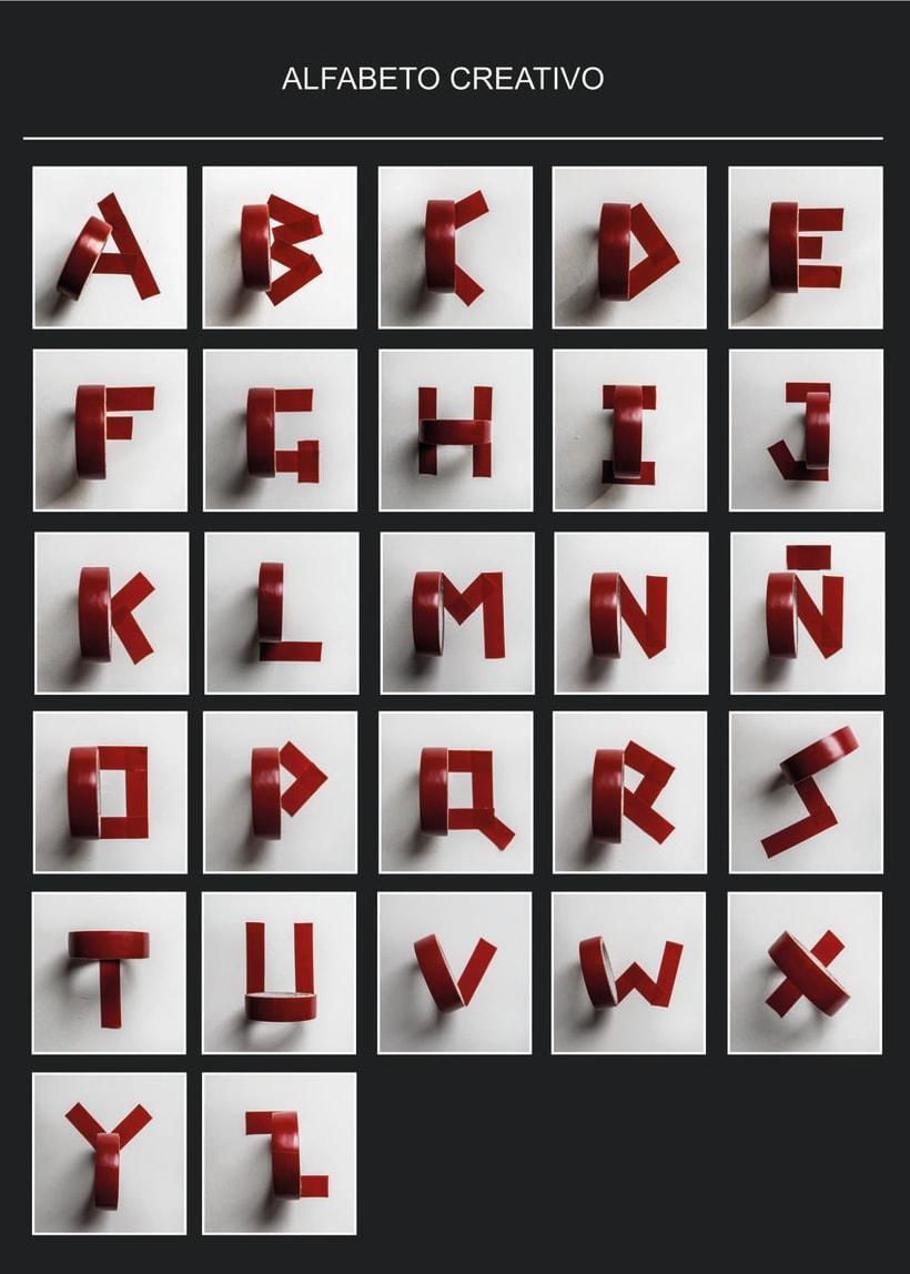 Alfabeto creativo 0