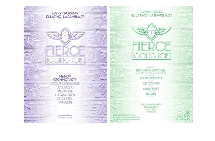 Naming e logotipo y cartelería de FIERCE 1