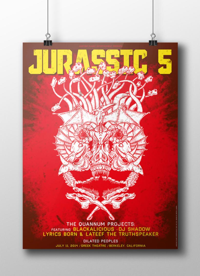 JURASSIC 5 POSTER 6