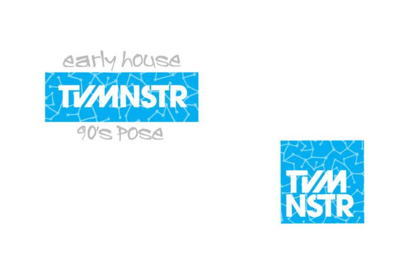 Naming e imagen corporativa TvMnstr 0