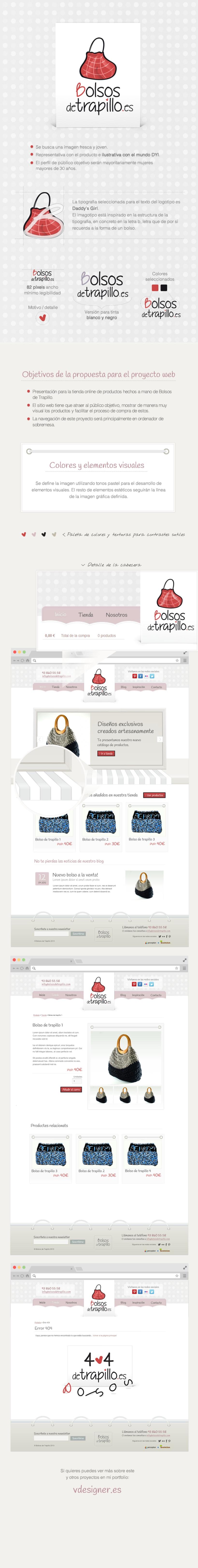 Bolsos de Trapillo, un proyecto de venta de bolsos DIY 0