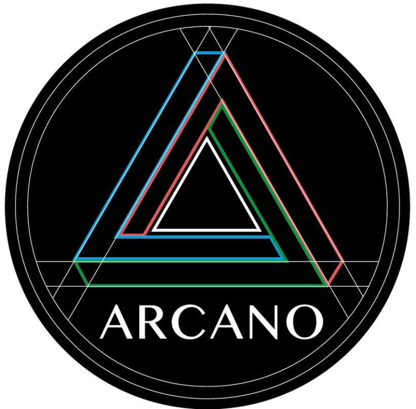 Logotipo Revista Arcano 0