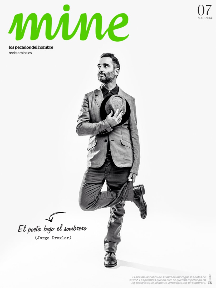 Jorge Drexler para Revista Mine -1