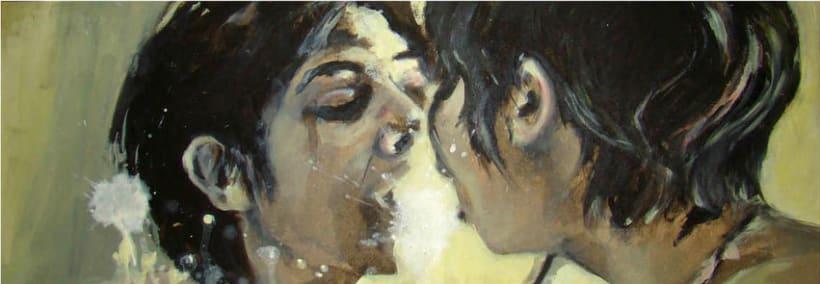Reflejo, pintura acrílica 0