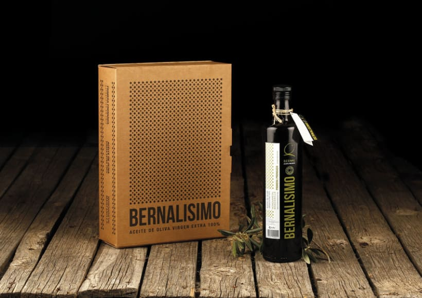 Packaging - Bernalissimo Aceite Virgen Extra 100% 1
