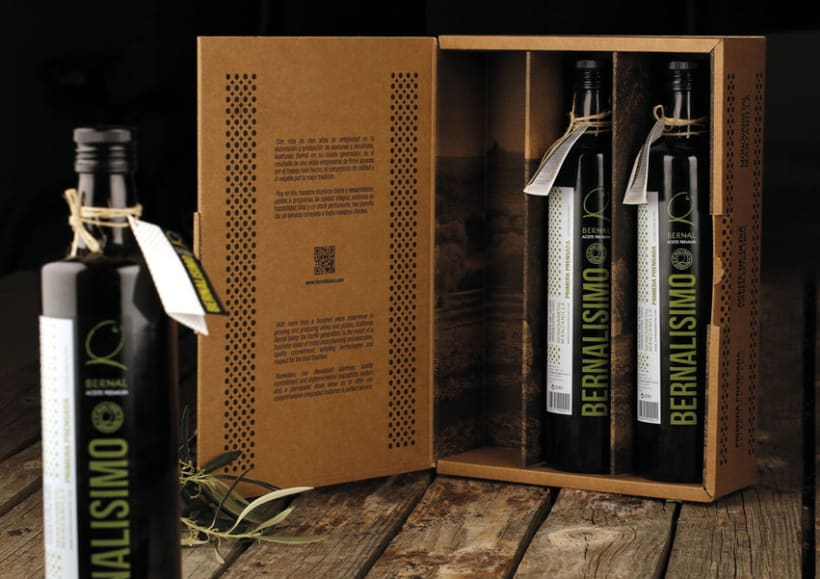 Packaging - Bernalissimo Aceite Virgen Extra 100% 2
