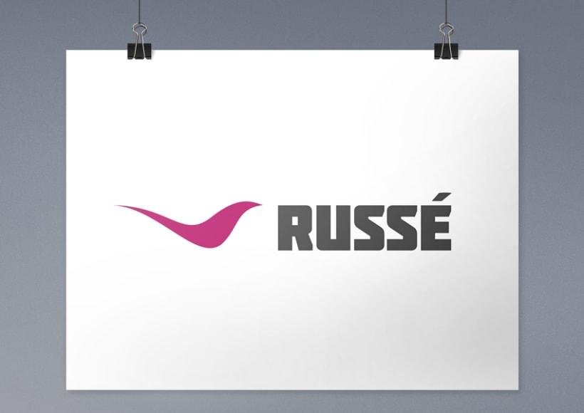 Imagen corporativa y aplicaciones - Russé 0