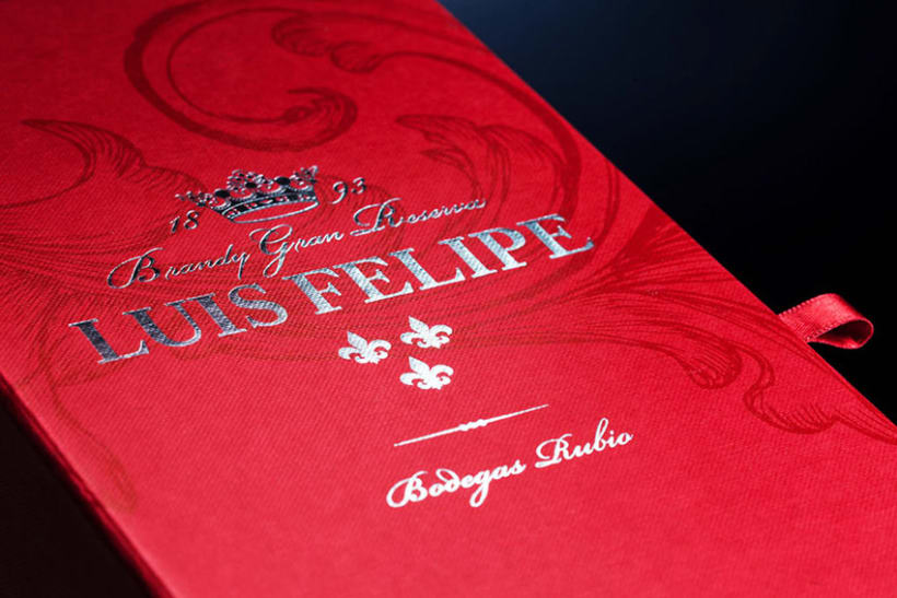 LUIS FELIPE Brandy Gran Reserva | Packaging 9
