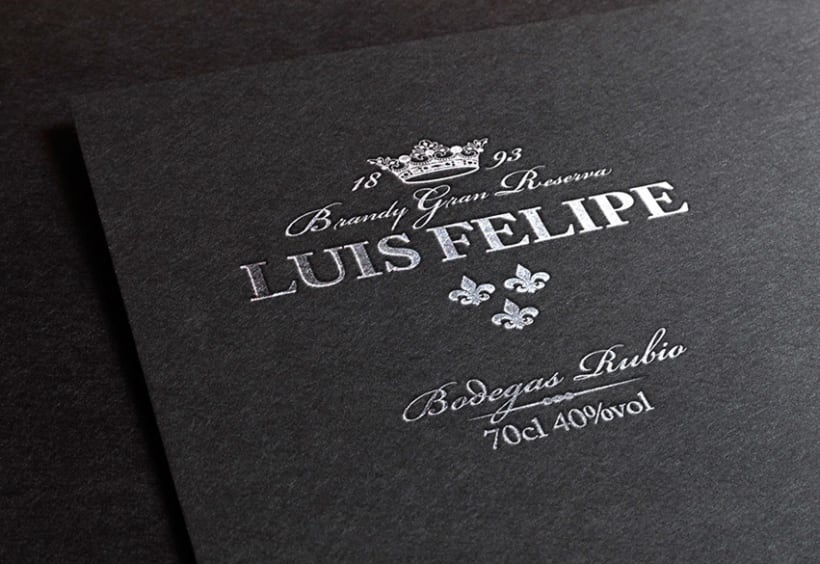 LUIS FELIPE Brandy Gran Reserva | Packaging 2