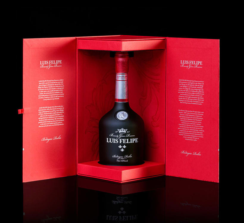 LUIS FELIPE Brandy Gran Reserva | Packaging 8
