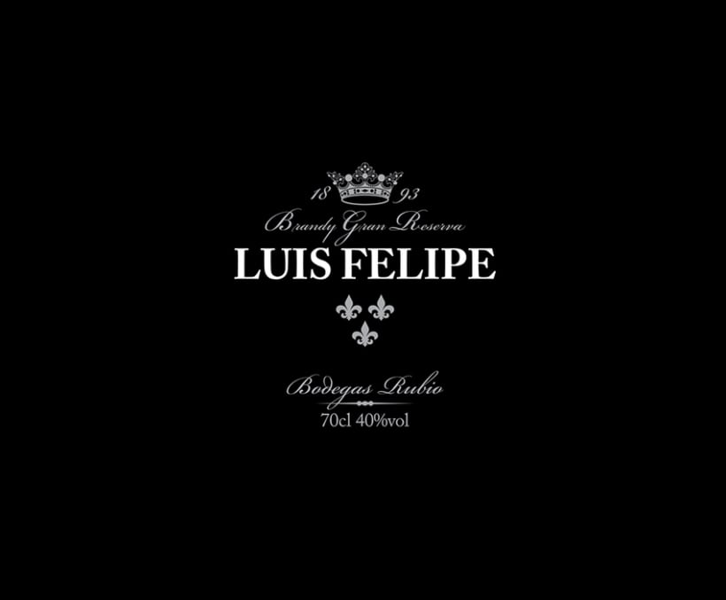 LUIS FELIPE Brandy Gran Reserva | Packaging 1
