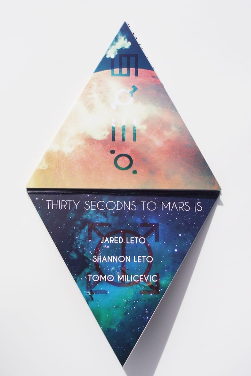 CD Design - 30 Seconds to Mars 0