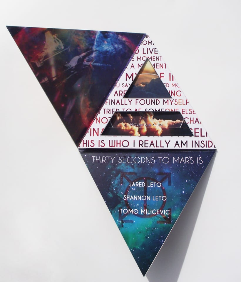 CD Design - 30 Seconds to Mars 1