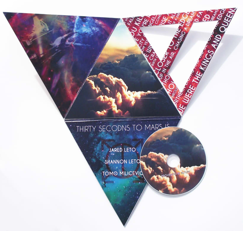 CD Design - 30 Seconds to Mars 3
