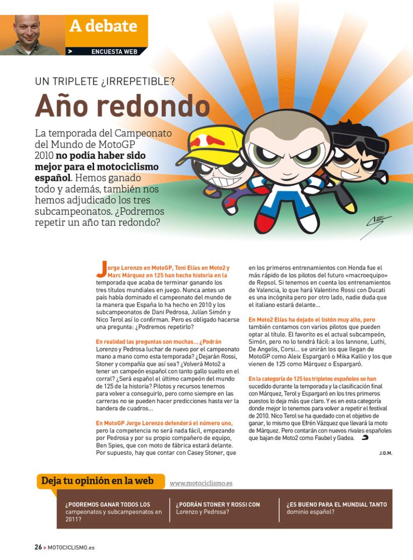 A debate - Sección de la revista Motociclismo 0