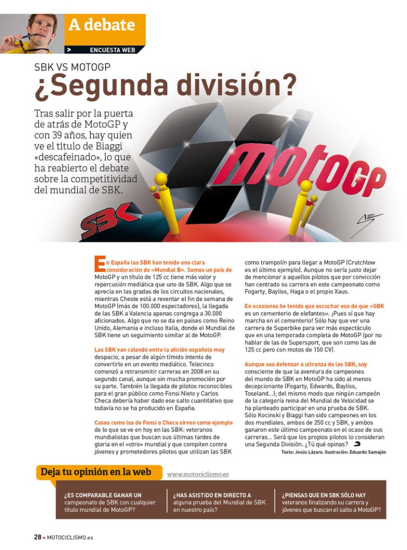 A debate - Sección de la revista Motociclismo 3