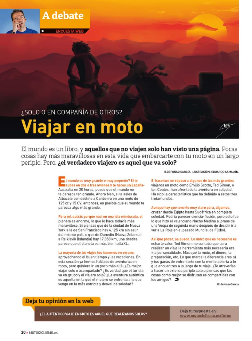 A debate - Sección de la revista Motociclismo 4