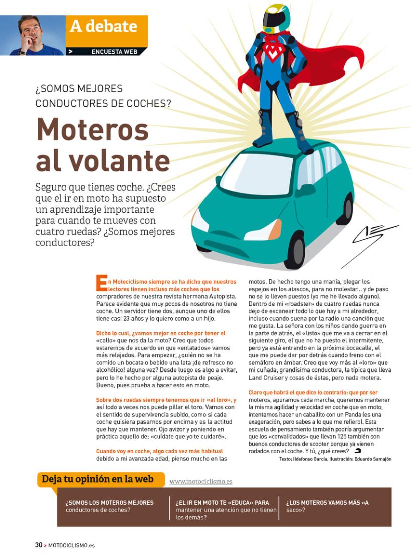 A debate - Sección de la revista Motociclismo 5