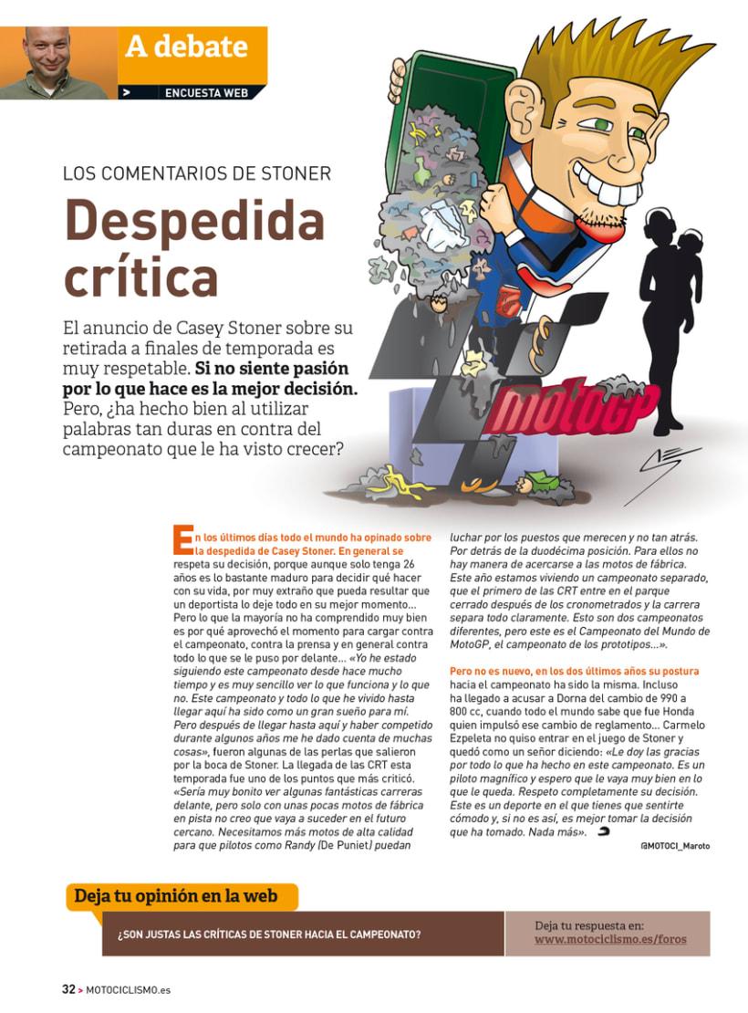 A debate - Sección de la revista Motociclismo 7