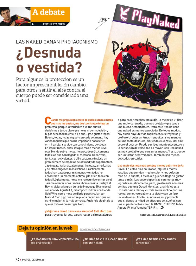 A debate - Sección de la revista Motociclismo 8