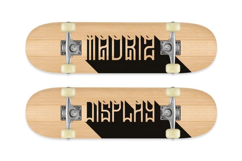 Tipografía MadrizDisplay 1