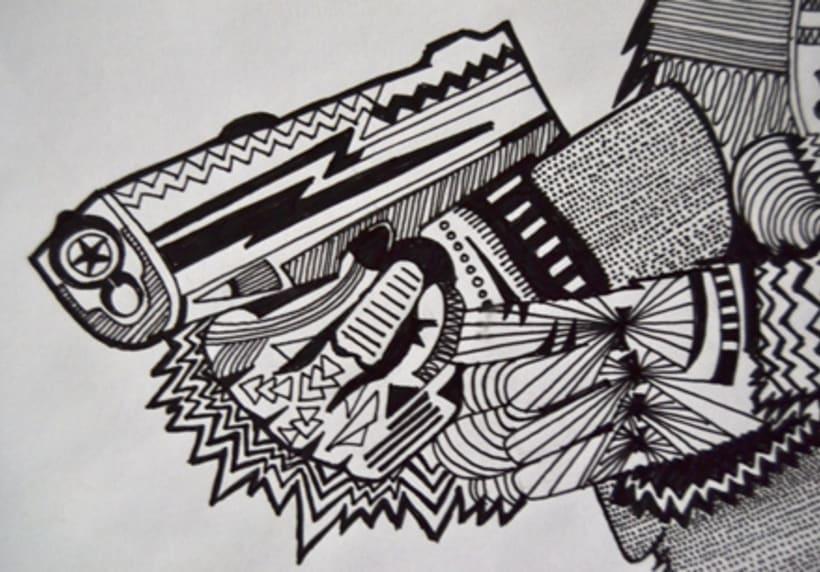 Ilustraciones Camisetas PICK UP 2