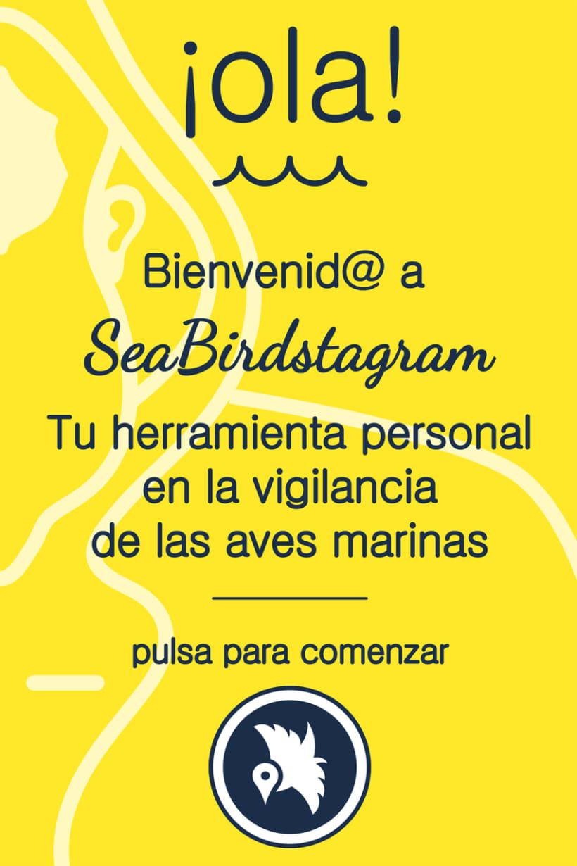 #SeaBirdstagram. App vigilancia de aves en el Mediterráneo 3