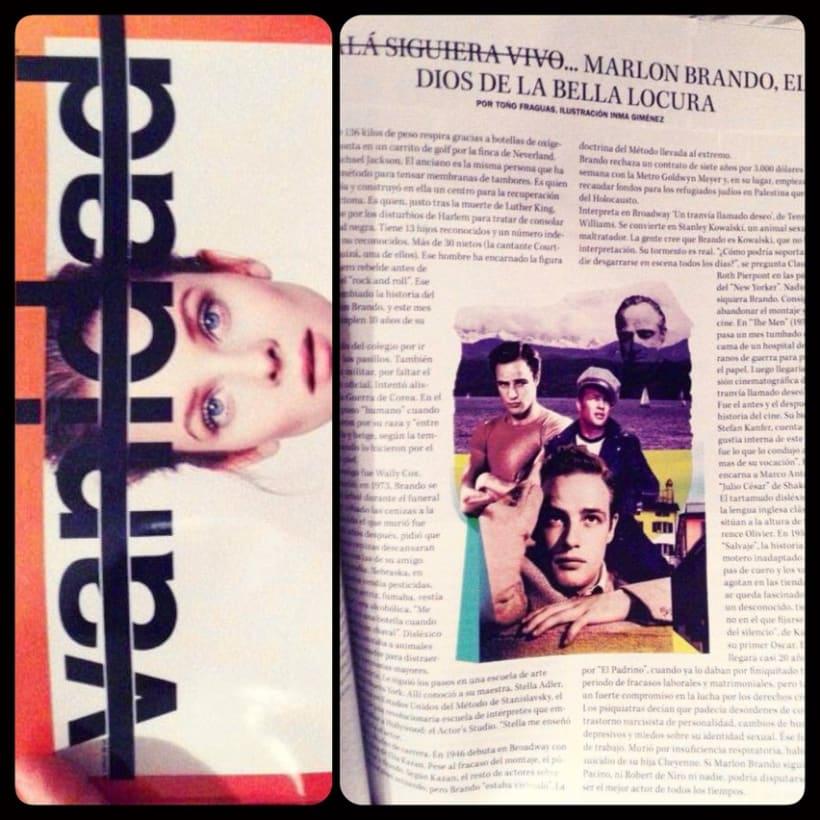 Colaboración para la revista Vanidad 14