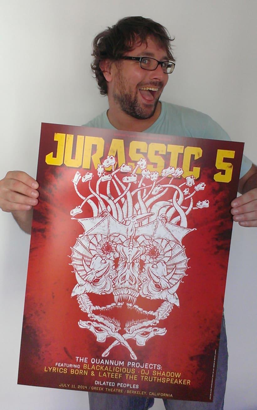 JURASSIC 5 POSTER 7