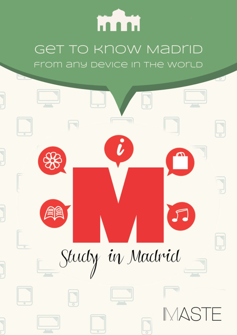 Study in Madrid (posters and banners) 1