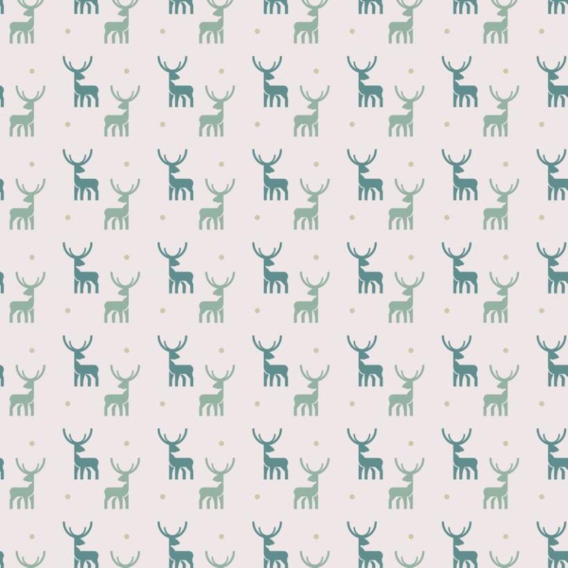 Deers pattern 2