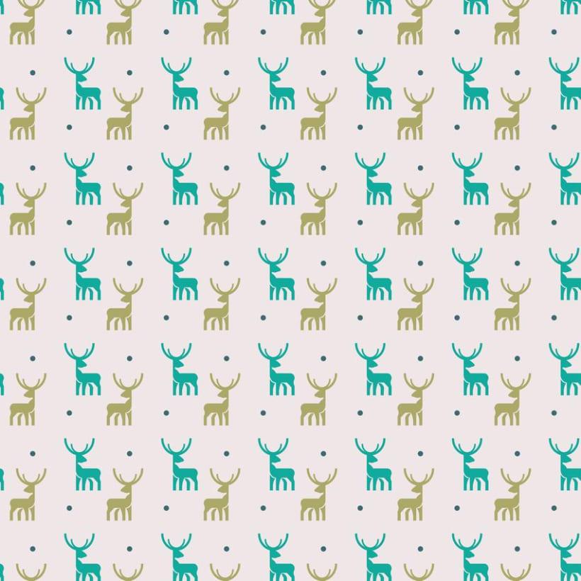 Deers pattern 3