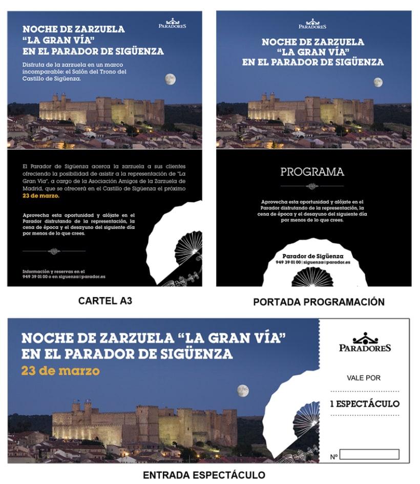 Cartelería Noche de Ópera en Sigüenza -1