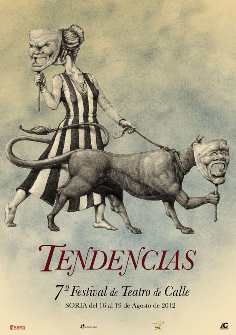 Carteles de Teatro y Mercado Medieval 3