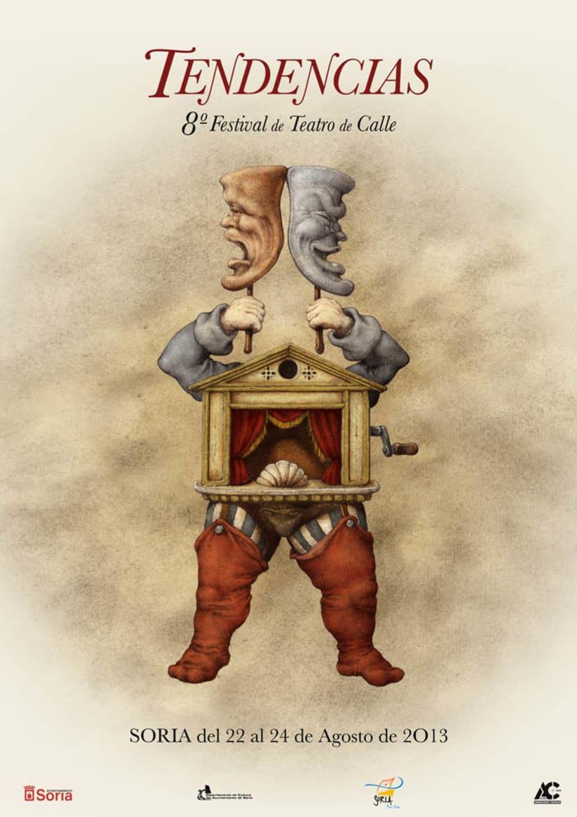 Carteles de Teatro y Mercado Medieval 4
