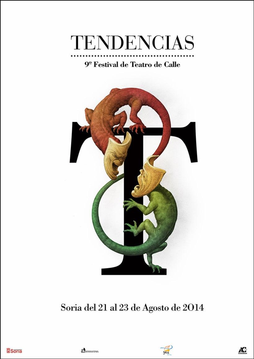 Carteles de Teatro y Mercado Medieval 5