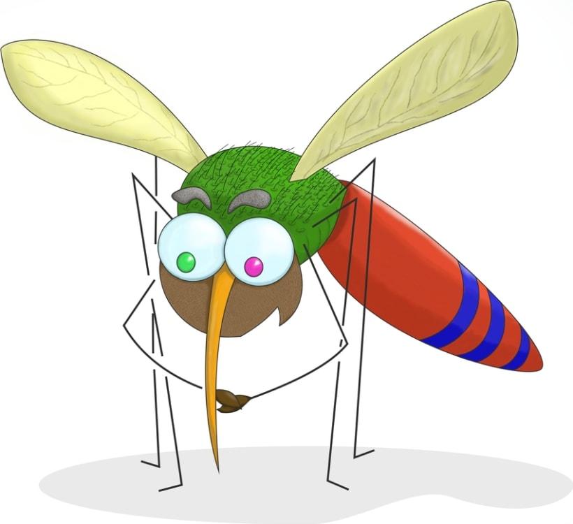 Pequeñito como un mosquito... -1