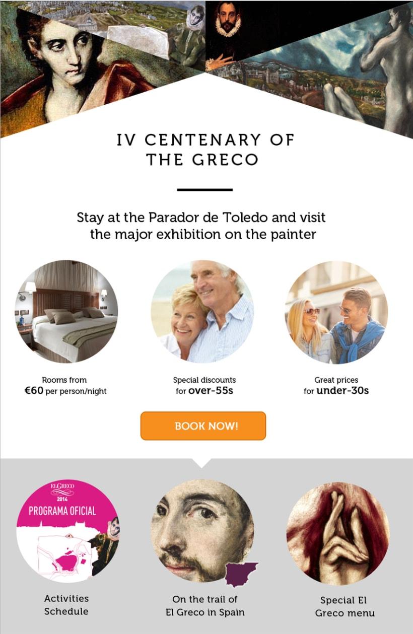 Diseño y maquetación HTML tema cultural en www.parador.es -1